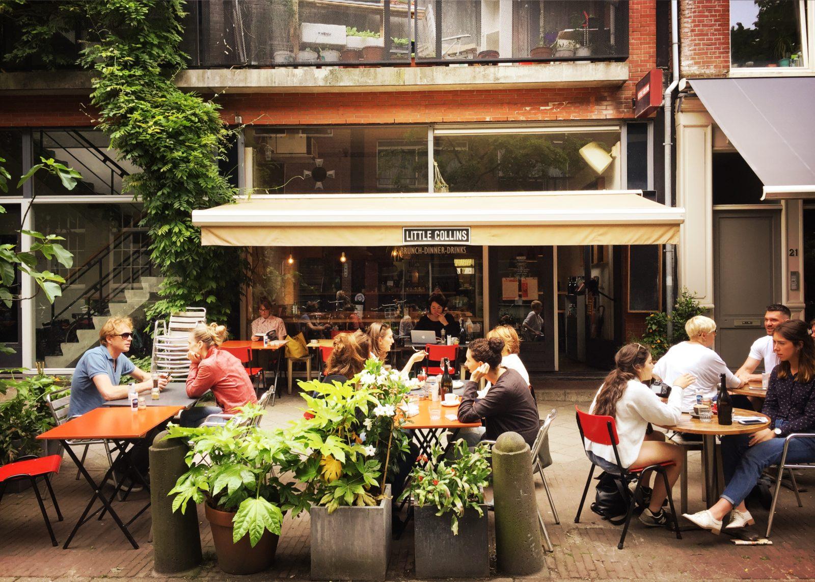Favoriete lunchplekken met terras in amsterdam mytravelboektje for Terras op een helling