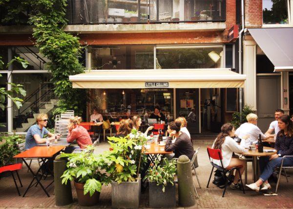 Favoriete lunchplekken met terras in Amsterdam
