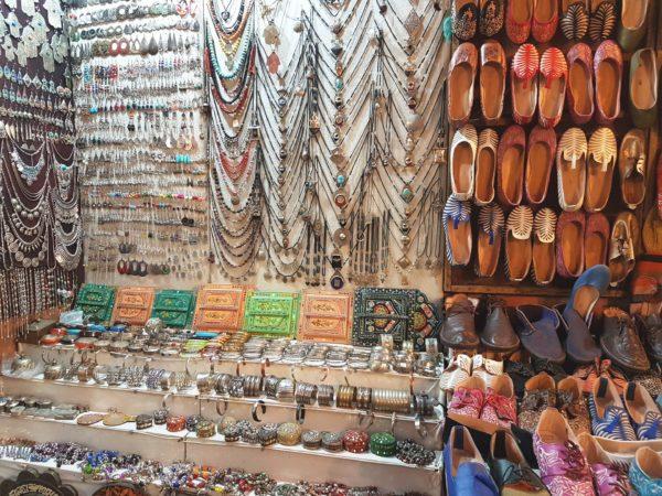 Shoppen in de Souks van Marrakech